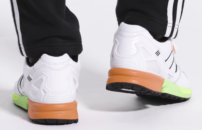adidas ZX 8000 White Black FZ4412 on foot 01