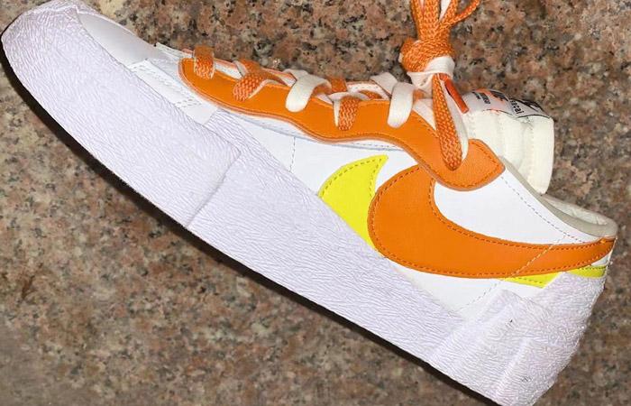 sacai Nike Blazer Low White Magma Orange DD1877-100 03