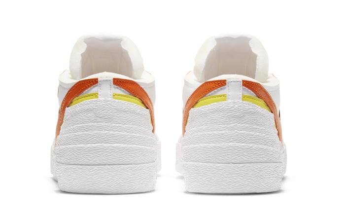 sacai Nike Blazer Low White Magma Orange DD1877-100 08
