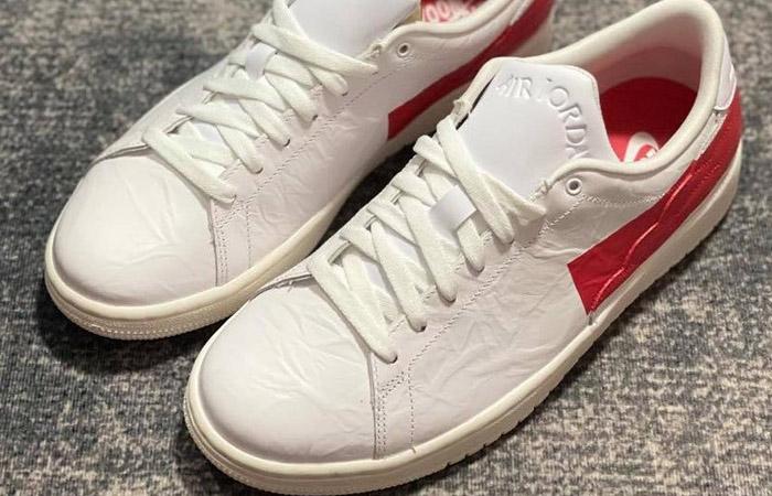 Air Jordan 1 Centre Court White University Red DJ2756-101 03