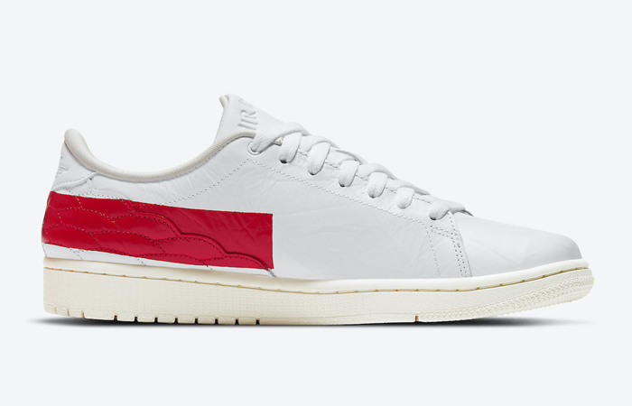 Air Jordan 1 Centre Court White University Red DJ2756-101 06