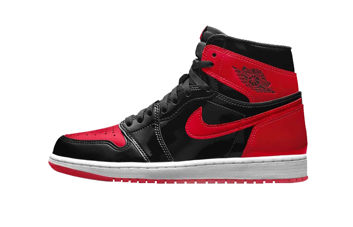Air Jordan 1 High OG Bred Patent 555088-063 01