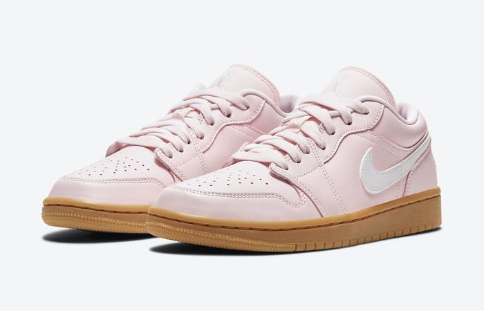 Air Jordan 1 Low Arctic Pink Gum Womens DC0774-601 02