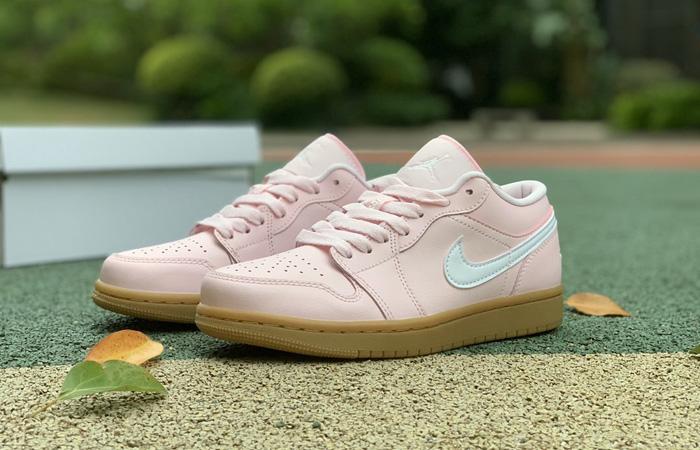 Air Jordan 1 Low Arctic Pink Gum Womens DC0774-601 06