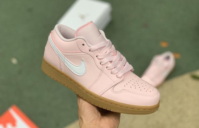 Air Jordan 1 Low Arctic Pink Gum Womens DC0774-601 07