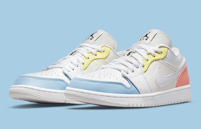 Air Jordan 1 Low To My First Coach DJ6909-100 02
