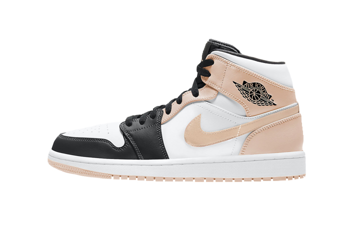 Air Jordan 1 Mid Crimson Tint 554724-133 01