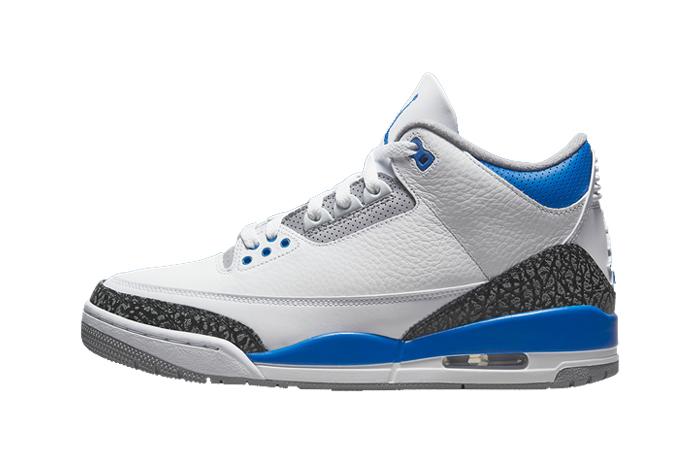Air Jordan 3 Racer Blue White CT8532-145 featured image