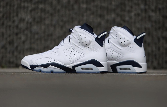 Air Jordan 6 White Midnight Navy CT8529-141 03
