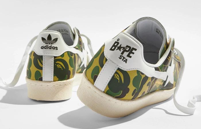 BAPE adidas Superstar ABC Green Camo GZ8981 04