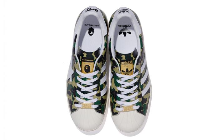 BAPE adidas Superstar ABC Green Camo GZ8981 07