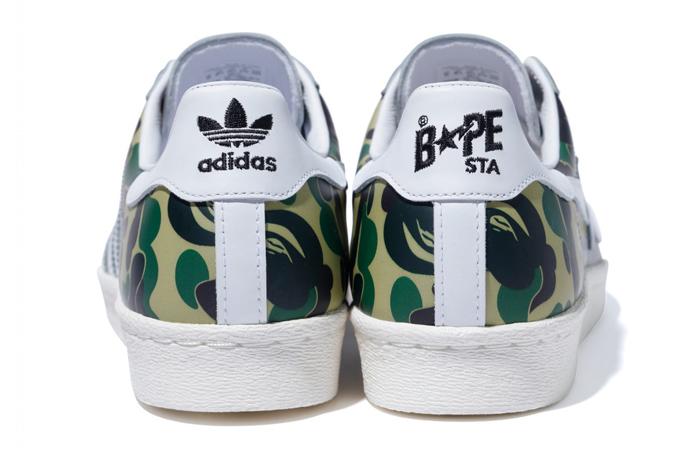 BAPE adidas Superstar ABC Green Camo GZ8981 08