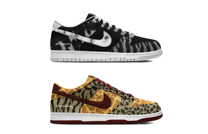 Buying Guide for Nike Dunk Low PRM Animal Pack 2021 ft