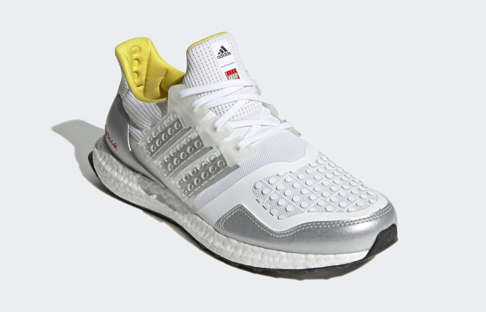 LEGO x adidas Ultra Boost DNA White Silver FY7690 05