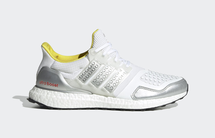 LEGO x adidas Ultra Boost DNA White Silver FY7690 06