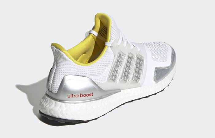 LEGO x adidas Ultra Boost DNA White Silver FY7690 08