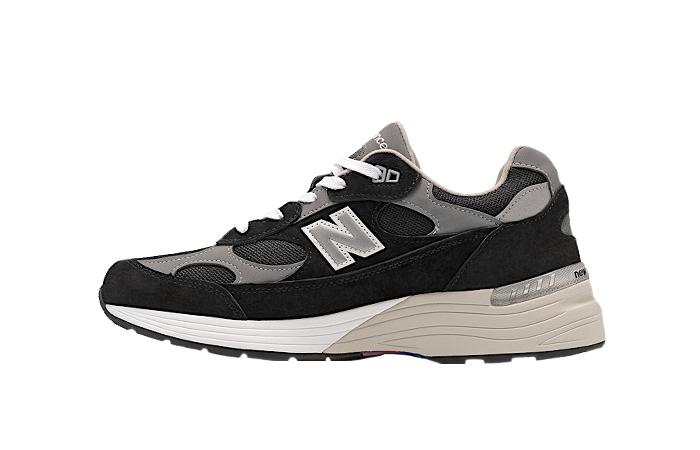 New Balance 992 Black Grey M992EB 01