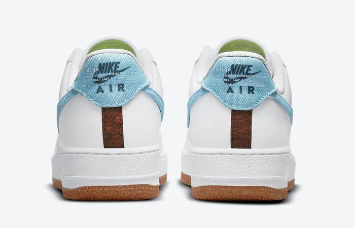 Nike Air Force 1 07 LV8 Indigo CZ0338-100 05
