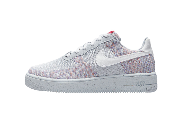 Nike Air Force 1 Crater Flyknit Wolf Grey DC4831-002 01