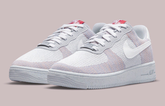 Nike Air Force 1 Crater Flyknit Wolf Grey DC4831-002 02