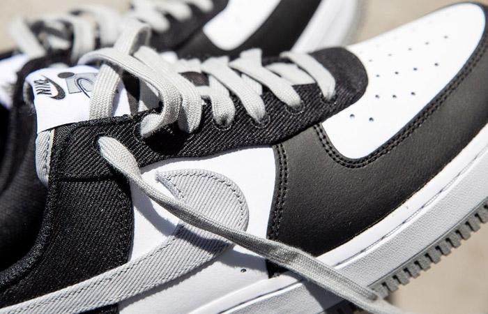 Nike Air Force 1 EMB Black Silver CT2301-001 03
