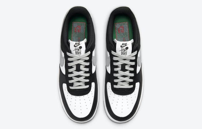 Nike Air Force 1 EMB Black Silver CT2301-001 07
