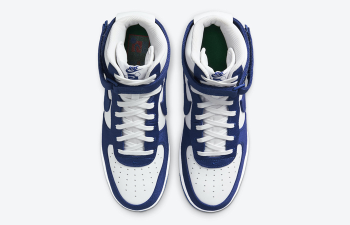 Nike Air Force 1 High EMB Dodgers White Blue DC8168-100 04