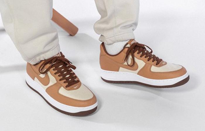 Nike Air Force 1 Low Acorn DJ6395-100 on foot 02
