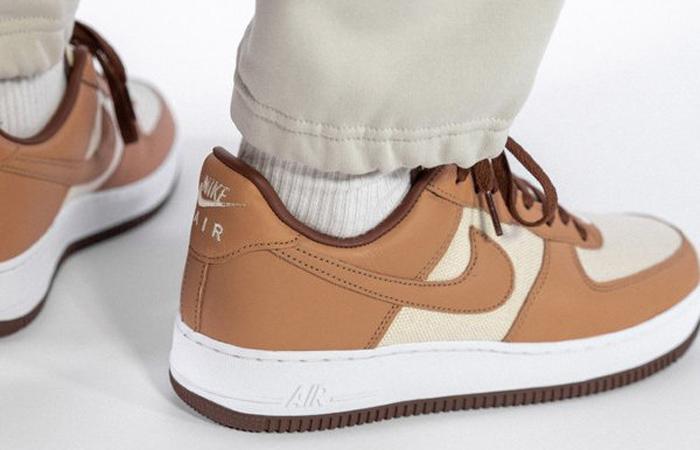 Nike Air Force 1 Low Acorn DJ6395-100 on foot 03