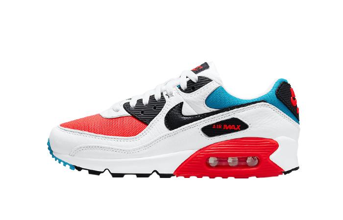 Nike Air Max 90 Firecracker Red White DD9795-100 01