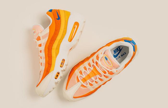 Nike Air Max 95 Campfire Orange Sail DJ6906-800 07