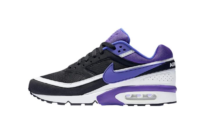 Nike Air Max BW Matte Black Persian Violet DJ6124-001 01