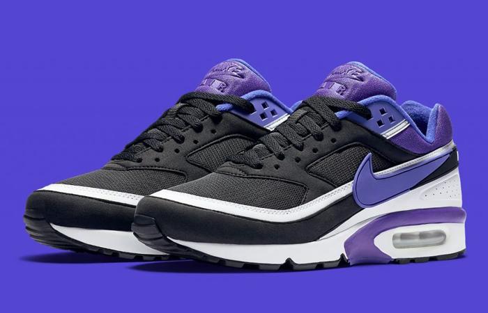 Nike Air Max BW Matte Black Persian Violet DJ6124-001 02