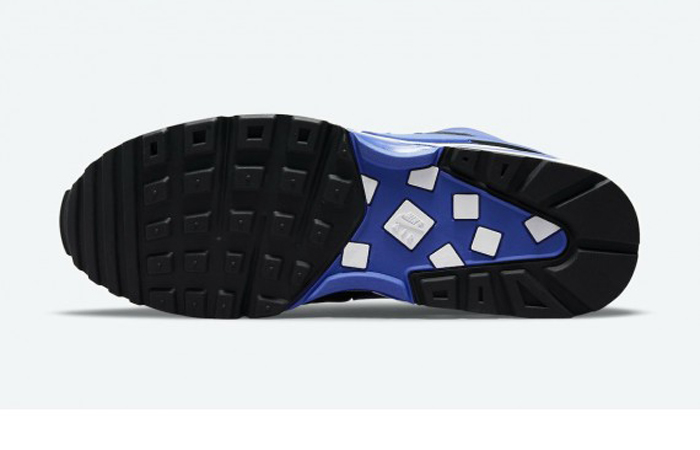 Nike Air Max BW Matte Black Persian Violet DJ6124-001 down