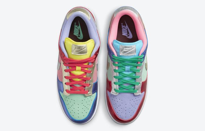 Nike Dunk Low Metallic Mismatch Multi Womens DN0855-600 07