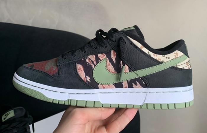 Nike Dunk Low SE Oil Green DH0957-001 02