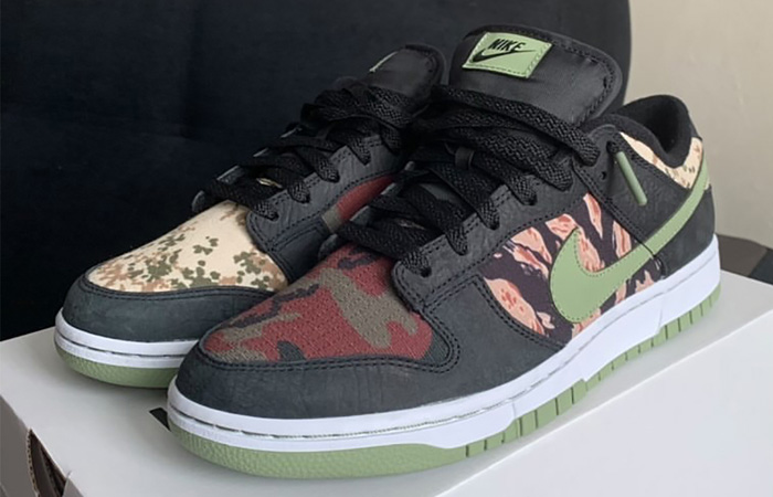 Nike Dunk Low SE Oil Green DH0957-001 03