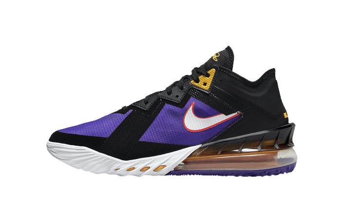 Nike LeBron 18 Low ACG Terra Black CV7562-003 01