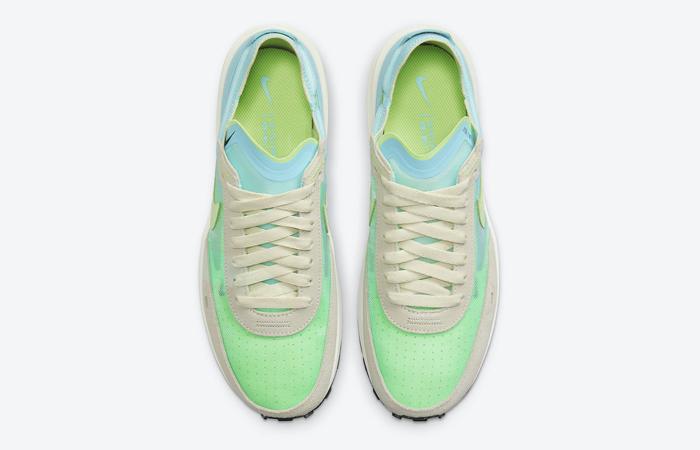 Nike Waffle One Scream Green Womens DC2533-401 03