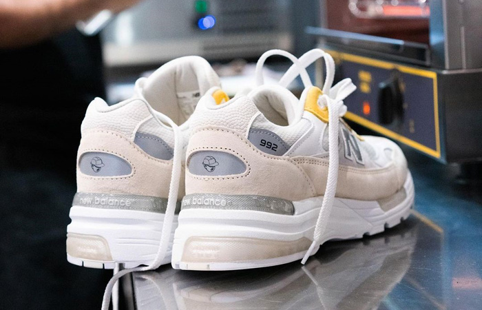 Paperboy Paris New Balance 992 White Beige 04