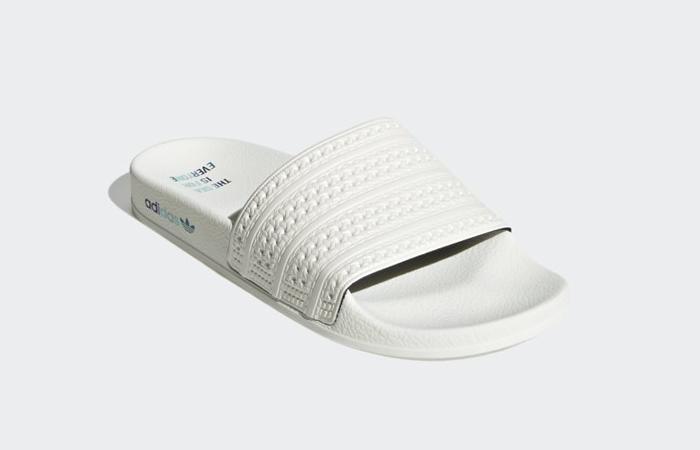 adidas Adilette Slides Chalk White GZ0519 02