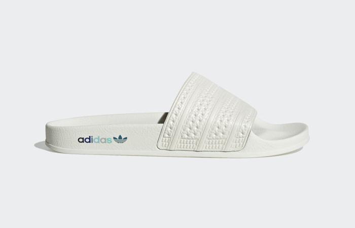 adidas Adilette Slides Chalk White GZ0519 03