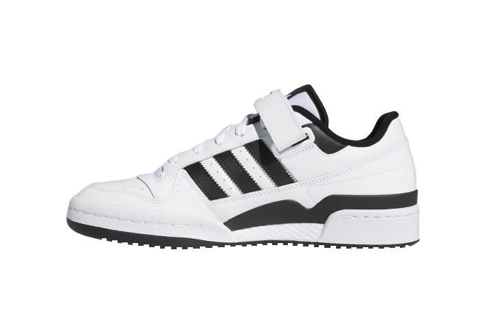adidas Forum Low Cloud White Black FY7757 01