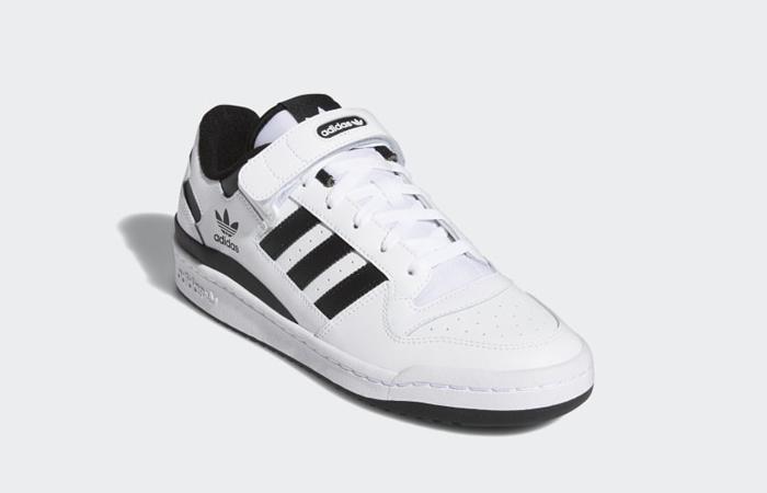 adidas Forum Low Cloud White Black FY7757 02