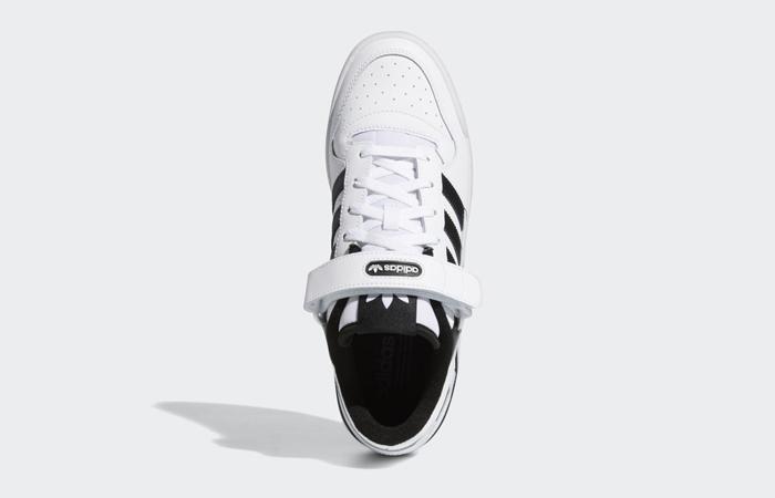 adidas Forum Low Cloud White Black FY7757 04