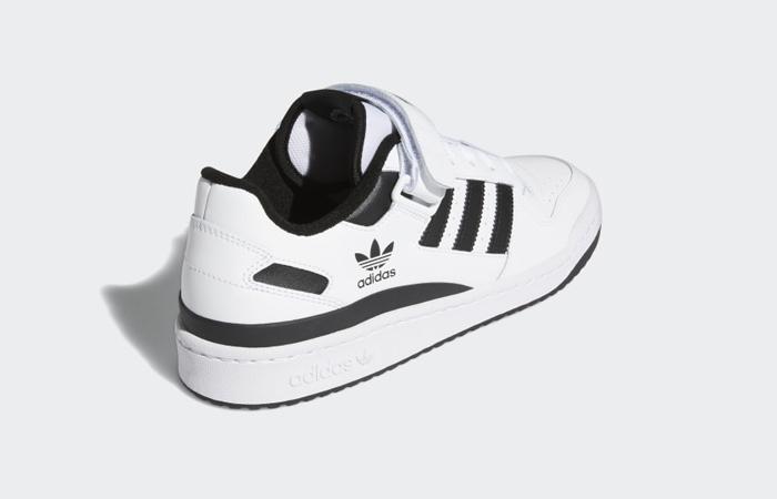 adidas Forum Low Cloud White Black FY7757 05