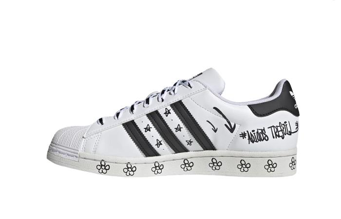 adidas Superstar Sharpie White Black GV9804 01