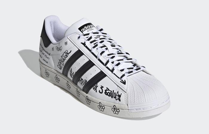adidas Superstar Sharpie White Black GV9804 02