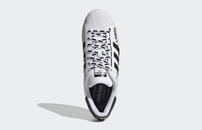 adidas Superstar Sharpie White Black GV9804 04