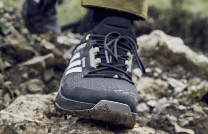 adidas Terrex Swift R3 Gore Tex Hiking Black FW2770 on foot 02